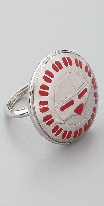 Bing Bang Hopi Sun Face Ring