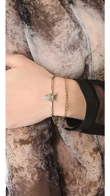 Bing Bang Brave Arrow Wrap Chain Bracelet
