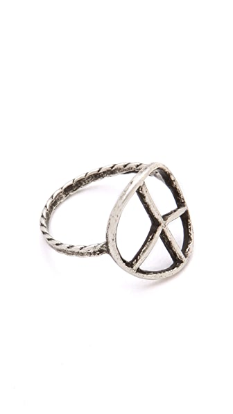 Bing Bang Peace Sign Ring