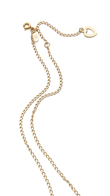 Bing Bang Vivienne Cross Chain Necklace