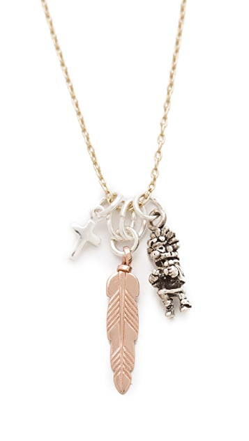 Bing Bang Kachina Tiny Charm Necklace