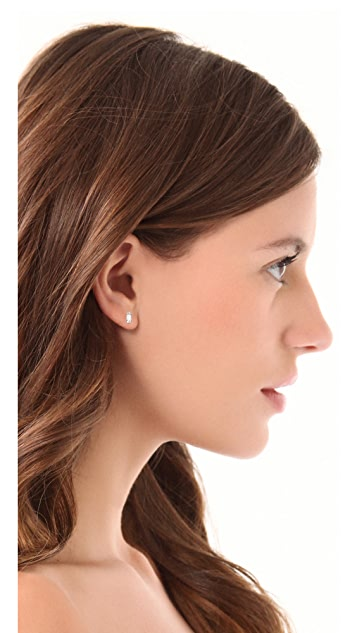 Bing Bang Victorian Baguette Stud Earrings