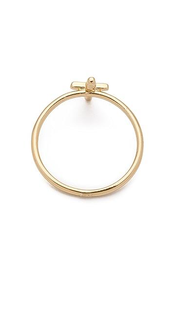 Bing Bang Cross Mini Stack Ring