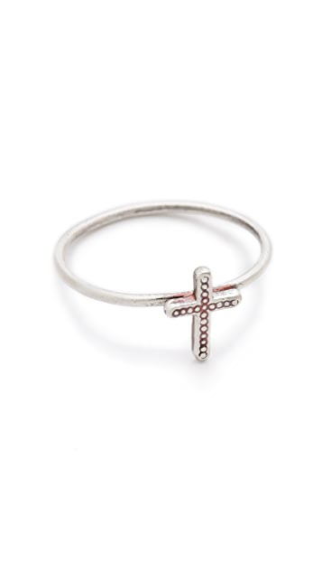 Bing Bang Cross Mini Stack Ring