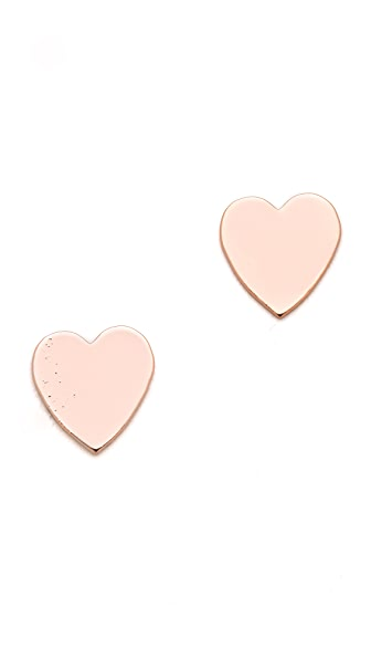 Bing Bang Heart Stud Earrings