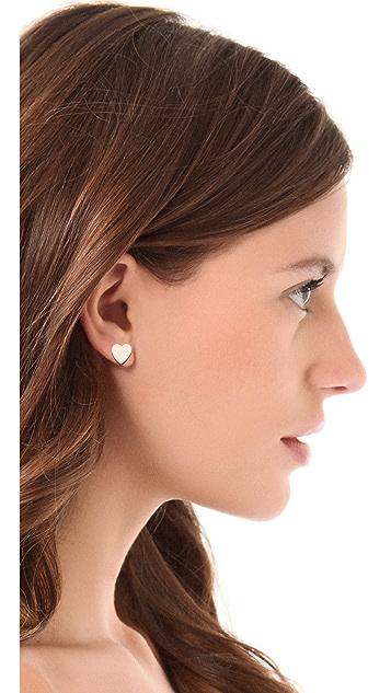 Bing Bang Heart Stud Earrings