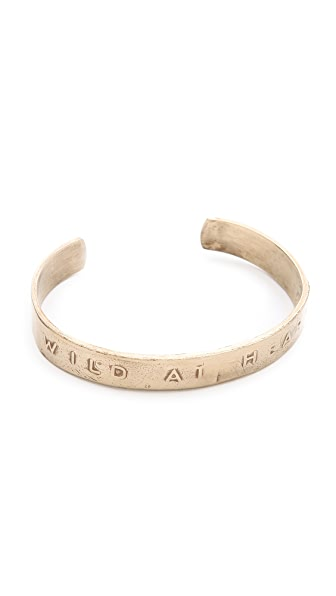 Bing Bang Wild at Heart Cuff Bracelet
