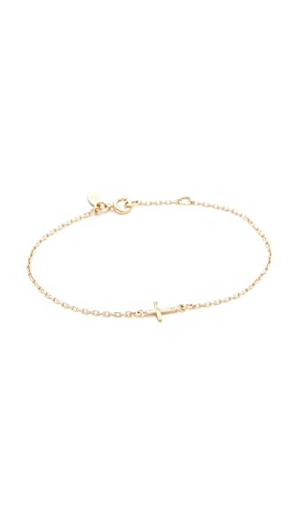 Bing Bang Cross Chain Bracelet