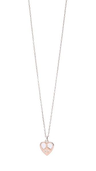 Bing Bang Peace Heart Necklace
