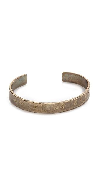 Bing Bang New York F'ing City Cuff Bracelet