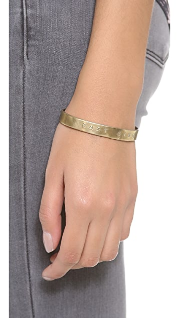 Bing Bang East Side Cuff Bracelet