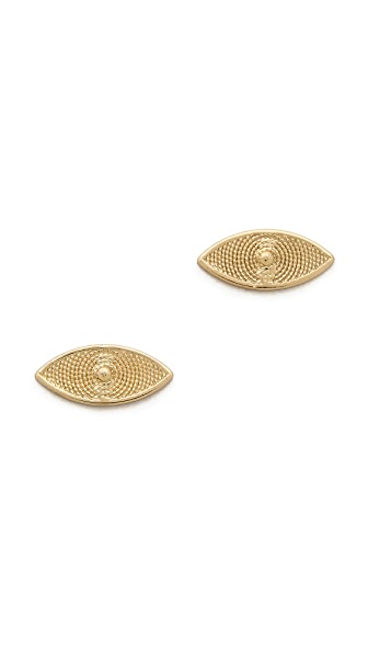 Bing Bang Evil Eye Stud Earrings