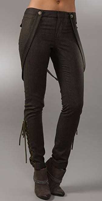 Bird by Juicy Couture Lace Up Pants