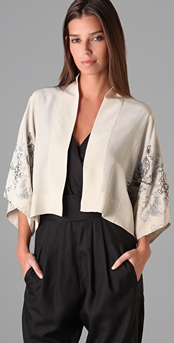 Bird by Juicy Couture Sayuri Kimono Jacket