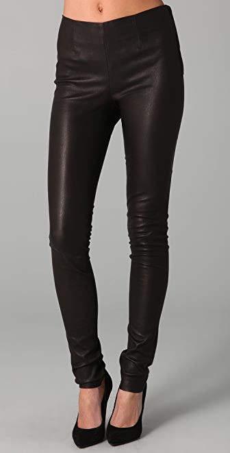 Bird by Juicy Couture Magic Stretch Leather Leggings
