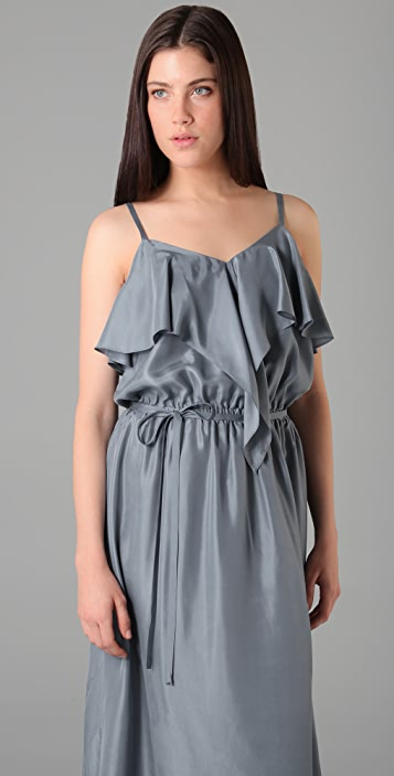 Bird by Juicy Couture Waterfall Long Dress
