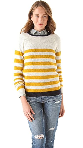 Birds of Paradis by Trovata Crew Neck Sweater
