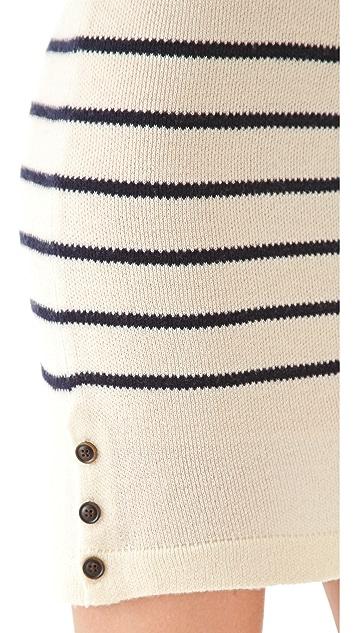 Birds of Paradis by Trovata Striped Sweater Dress
