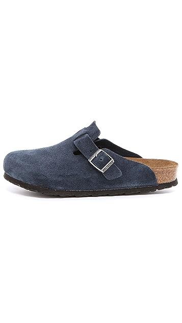 Birkenstock Soft Footbed Boston Clogs