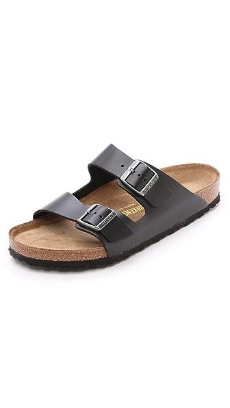 Birkenstock Amalfi Leather Soft Footbed Arizona Sandal