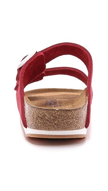 Birkenstock Arizona 2 Band Suede Sandals
