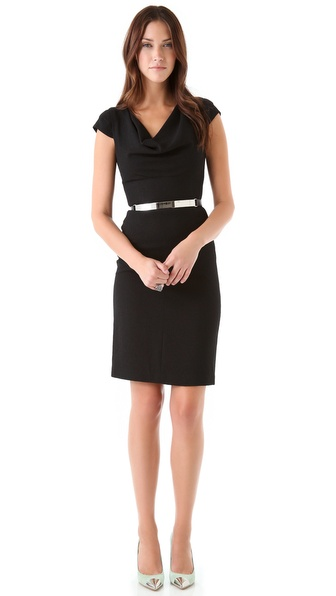 Black Halo Gretchen Dress