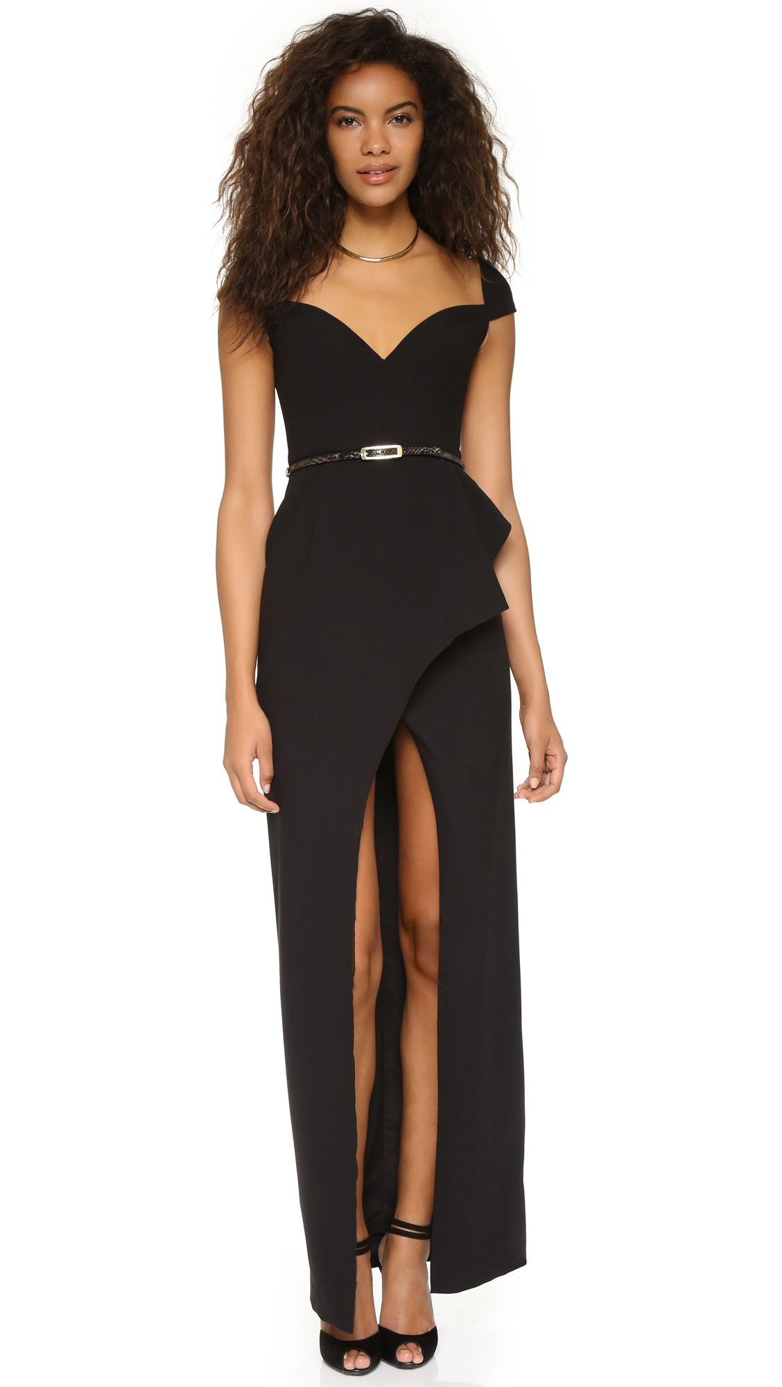Black Halo Eve Prestige Gown | SHOPBOP