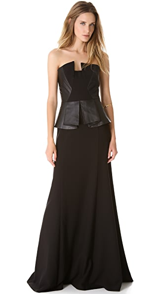 Black Halo Eve Drea Gown
