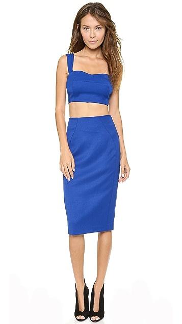 Black Halo Kayley 2 Piece Dress