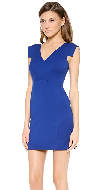 Black Halo Diane Mini Dress