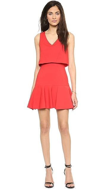 Black Halo Shawna Mini Dress