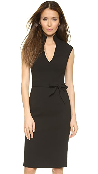 Black Halo Brittan Sheath Dress - Black