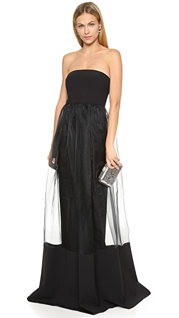 Black Halo Vail Gown