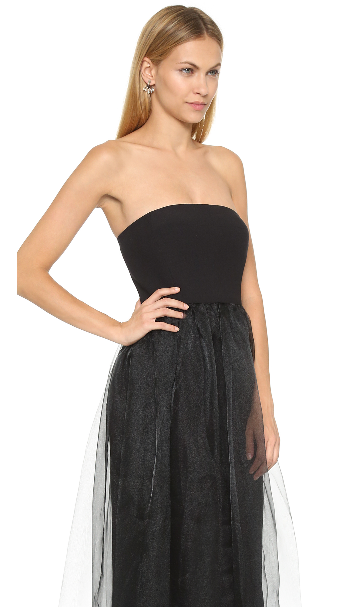 Black Halo Vail Gown | SHOPBOP
