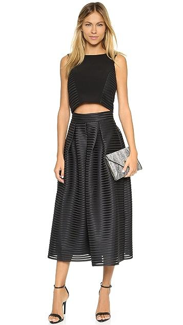 Black Halo Acadia Two Piece Dress