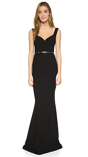 Black Halo Kona Gown