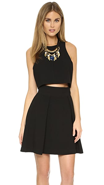 Black Halo Sanibel 2 Piece Mini Dress - Black