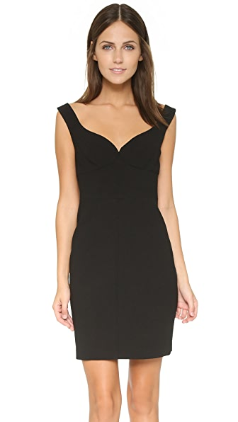 Black Halo Ally Mini Dress