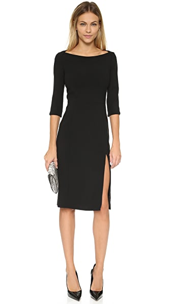 Black Halo Marissa Sheath Dress - Black