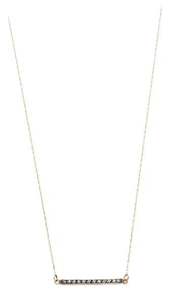 blanca monros gomez White Diamond Dainty Necklace
