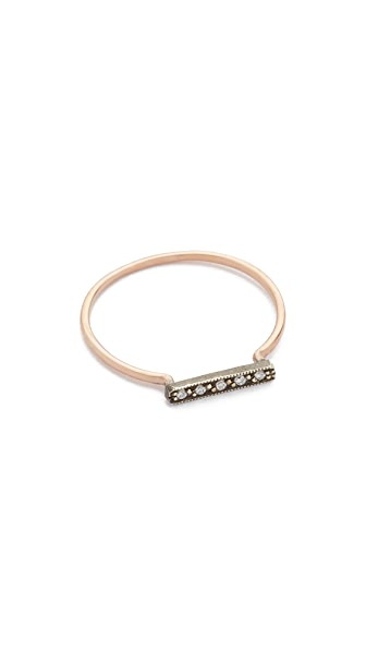 blanca monros gomez Dainty Stacking Diamond Ring