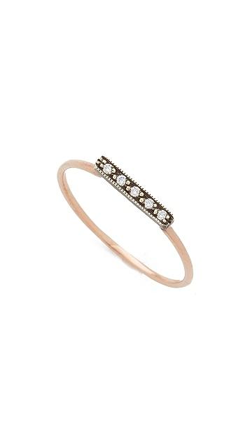 blanca monros gomez Dainty Stacking Diamond Ring