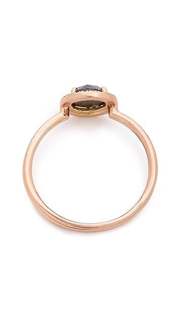 blanca monros gomez Rose Cut Diamond Solitaire Ring