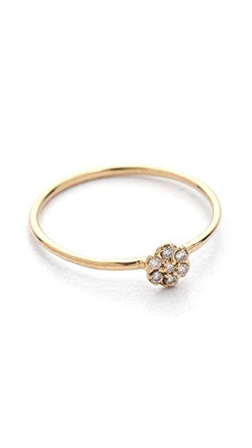 blanca monros gomez Small Rosette Stacking Ring