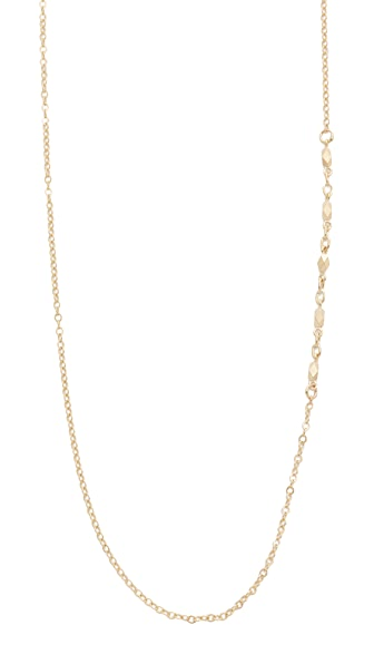 blanca monros gomez 14k Gold Chain Lavalier Necklace In Gold