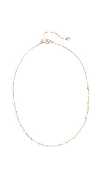 blanca monros gomez 14k Gold Chain Lavalier Necklace - Gold