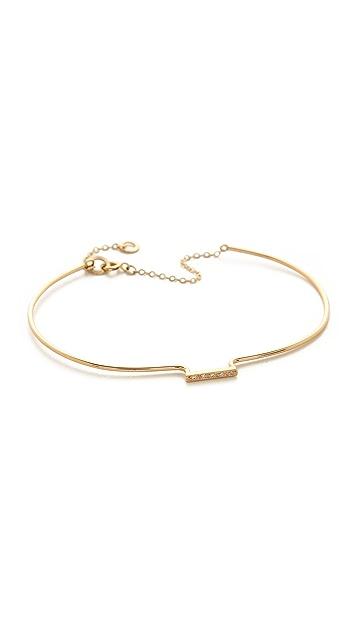 blanca monros gomez Dianty Diamond Cuff Bracelet