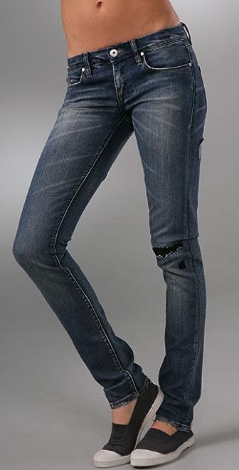 Blank Denim Slouchy Skinny Jeans