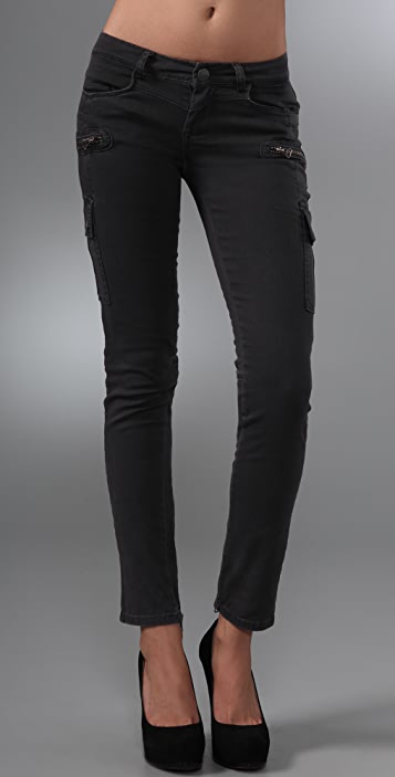 Blank Denim Cargo Skinny Pants