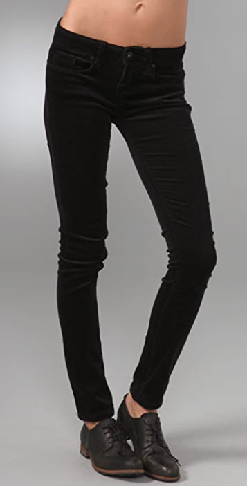 Blank Denim Skinny Corduroy Pants